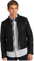 G Star G-Star - Aero Leather Jacket (Black) - Apparel