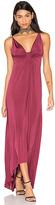Astr Jaclyn Dress in Burgundy. - size L (also in M)