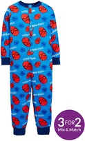 Spiderman Boys Sleepsuit