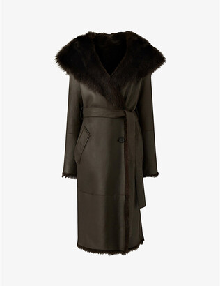 Joseph Toscana shearling coat