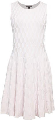 Saks Fifth Avenue Printed Cotton-Blend Fit-&-Flare Dress