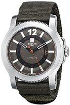 Zodiac ZMX Men's ZO9101 Jet-O-Matic Stainless Steel Watch with Nylon Strap
