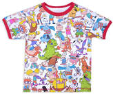 Children's Apparel Network Red & White Nickelodeon Tee - Toddler