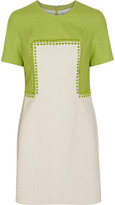 3.1 Phillip Lim Safety pin-detailed linen-blend mini dress