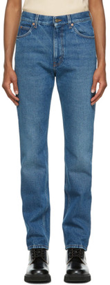 Gucci Blue Eco Wash Organic Cotton Jeans