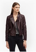 French Connection Tobey Leather Biker Jacket