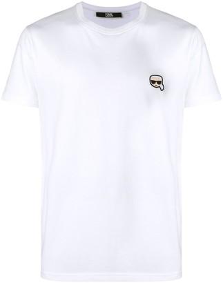 Karl Lagerfeld Paris Ikonik Patch T-Shirt