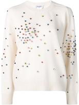 Chanel Pre Owned cashmere embellished jumper