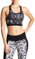 Mono B Abstract Print Sports Bra