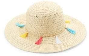 Collection 18 Fringe Straw Hat