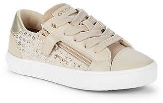 Geox Kid's Side-Zip Sneakers