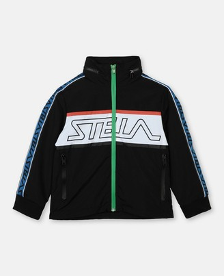 Stella Mccartney Kids Stella McCartney logo tape sport jacket