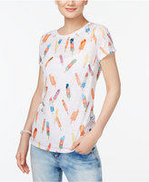 INC International Concepts Petite Popsicle Print T-Shirt, Created for Macy's