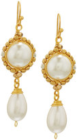 Nakamol Wire-Wrapped Simulated Pearl Drop Earrings