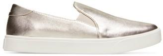 Cole Haan GrandPro Metallic Slip-On Leather Sneakers