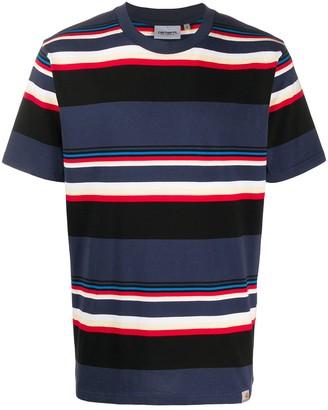 Carhartt Wip stripe print T-shirt