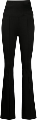 Helmut Lang High-Waist Flared Trousers
