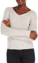 Qi Petite Cashmere Pullover