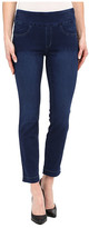 "Miraclebody Jeans Andie 28"" Ankle Pull-On Jeans in Trinidad Blue"