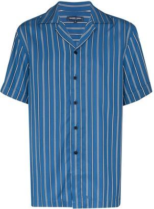 Frescobol Carioca Striped Tencel Shirt
