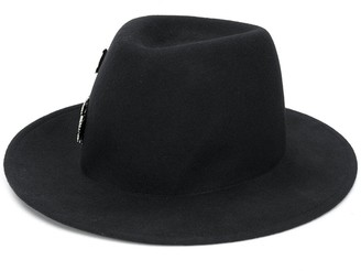 Ann Demeulemeester Felted Fedora Hat