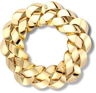 Pragnell 18kt yellow gold Cuba medium chain bracelet