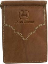 Asstd National Brand John Deere Front Pocket Leather Wallet
