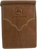 John Deere Front Pocket Leather Wallet