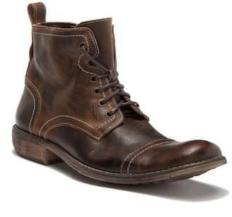ROAN Bloke Cap Toe Leather Boot
