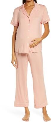 Belabumbum Lounge Chic Maternity/Nursing Capri Pajamas