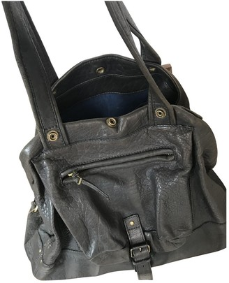 Jerome Dreyfuss Billy Anthracite Leather Handbags