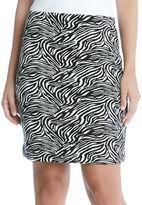 Karen Kane Zebra Printed Pencil Skirt