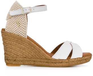 Kurt Geiger Leona wedge heel sandals