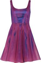 Milly Neoprene-mesh dress