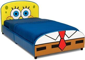 SpongeBob Squarepants Delta Children Upholstered Twin Bed