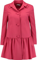 RED Valentino Fluted twill coat