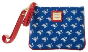 Dooney & Bourke Toronto Blue Jays Stadium Wristlet