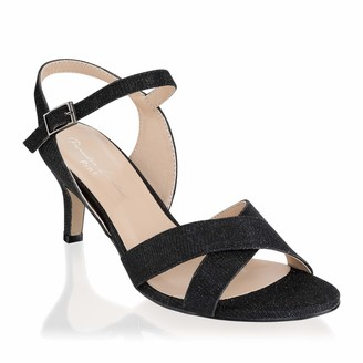 Paradox London Pink Women's Haniya Ankle Strap Sandals