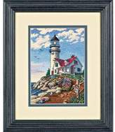 Dimensions Needlecrafts Counted Cross Stitch, Beacon at Rocky Point