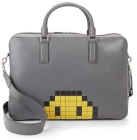 Anya Hindmarch Walton Pixel Smiley Briefcase