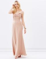 Satin Evening Dress
