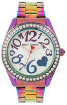 Betsey Johnson Amazing Oil Slick Watch