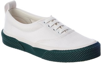 Celine 180 Lace-Up Canvas Sneaker