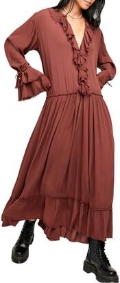 Free People Sweet Darlin' Long Sleeve Maxi Dress