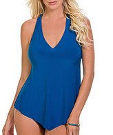 Magicsuit Solid Taylor Racerback V-Neck Underwire Tankini Top