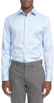 Armani Collezioni Slim Fit Twill Dress Shirt