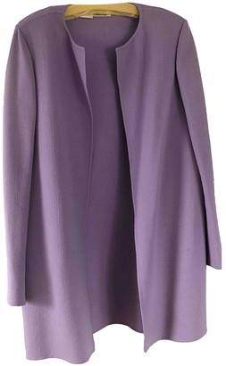 Bill Blass Purple Wool Jacket for Women