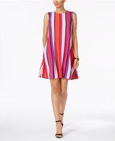 Nine West Striped Shift Dress
