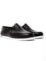 Native Howard Boat Shoe Black
