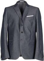 Grey Daniele Alessandrini Denim outerwear